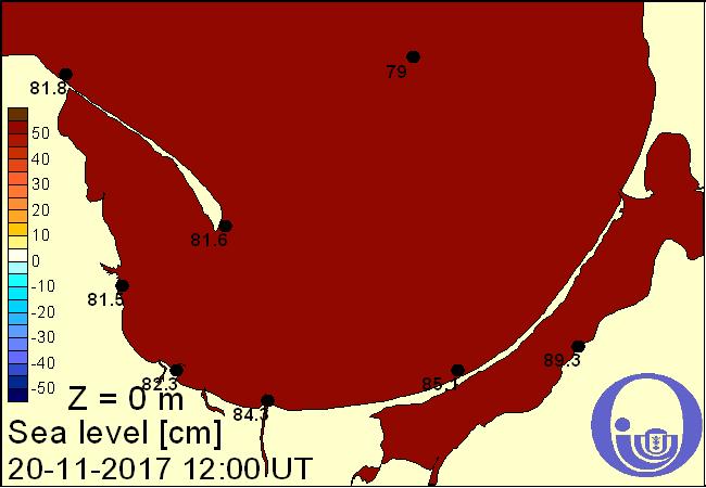 Poziom wody w morzu w Zatoce Puckiej i Gdańskiej na podstawie Modelu Ekohydrodynamicznego Instytutu Ocanografii Uniwersytetu Gdańskiego